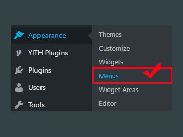 웹사이트 메뉴만들기