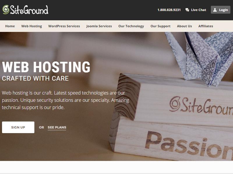 SiteGround 웹호스팅 장점 및 설정방법